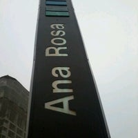Photo taken at Ana Rosa Station (Metrô) by André K. on 11/16/2012