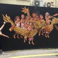 Photo taken at Ipoh Mural Art's Lane by archangel ♡ on 4/1/2018