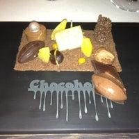 Das Foto wurde bei Ciel Bleu Restaurant von Luca  C. am 11/22/2012 aufgenommen