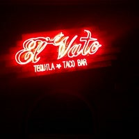 Photo taken at El Vato Tequila And Taco Bar by Y B. on 5/31/2013