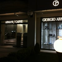 Photo taken at Armani Caffè by summer ssong ssong on 5/19/2013