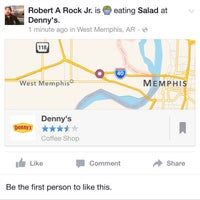 Photo taken at Denny's by Robert R. on 3/23/2015
