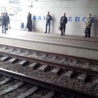 Photo taken at Міст Вацлава Гавела by Оля П. on 5/15/2014