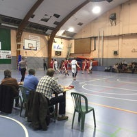 Photo taken at Royal Nivelles Basket-Ball Club by Quentin V. on 3/5/2016