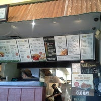 Photo taken at Wingstop by Aaron G. on 9/9/2014