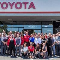 Photo taken at Magnussen's Toyota of Palo Alto by Magnussen's Toyota of Palo Alto on 5/14/2014