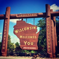 Photo taken at Wisconsin/Illinois State Line by asianbama on 8/31/2014