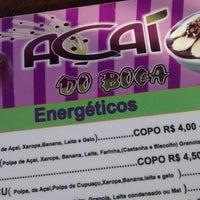 Photo taken at Açaí do Boca by Fagner C. on 1/30/2015
