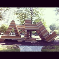 Photo taken at Robert W. Woodruff Park by Nicole P. on 10/13/2012