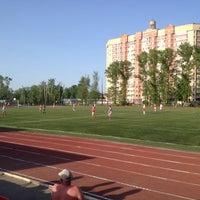 Photo taken at Стадион «Спартак» by Artem G. on 5/18/2014