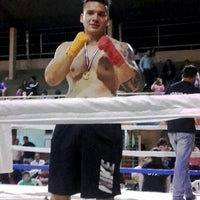 Photo taken at Roque Box Team 💪 by Gerardo A. on 9/6/2015