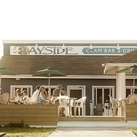 Photo taken at Bayside Clam Bar & Grill by Bayside Clam Bar & Grill on 5/15/2014