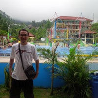 "Photo taken at Guciku ""Hot Water Boom"" by Adhiyarta A. on 2/8/2015"