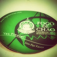 Photo taken at Fogo de Chao Brazilian Steakhouse by chris F. on 4/26/2013