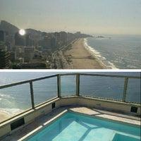 Photo taken at Marina Palace Rio Leblon by Luis N. on 12/4/2012