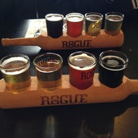 Photo taken at Rogue Ales Public House by Nikki R. on 5/13/2013
