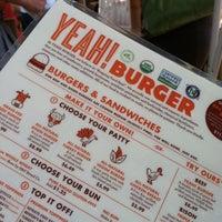 Снимок сделан в YEAH! Burger пользователем Sarah S. 5/12/2013