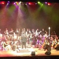Photo taken at Teatro Popular Melico Salazar by Luis V. on 4/28/2013