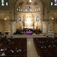 Photo taken at St. Peter's Catholic Church by Sean H. on 2/24/2013