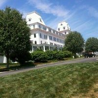 Photo taken at Wentworth by the Sea, A Marriott Hotel & Spa by Kristin R. on 7/19/2012