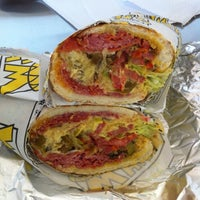 Photo taken at Which Wich? Superior Sandwiches by Justin on 5/24/2012