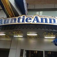 Photo taken at Auntie Anne's & Cinnabon & Carvel by Dean D. on 7/21/2012
