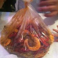 Photo taken at Hot N Juicy Crawfish by Honey on 4/8/2012