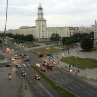 Photo taken at Karl-Marx-Allee by Michele O. on 7/31/2012