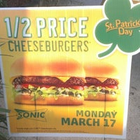 Photo taken at SONIC Drive In by Ivana B. on 3/17/2014