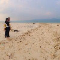 Photo taken at Umang Island Resort by Opik Elsyarma M. on 9/2/2015