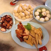 Photo taken at Famosa Chicken Rice Ball by Amy O. on 6/21/2013