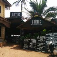 Photo taken at Brittos Bar & Restaurant by Taarini NB &. on 8/2/2014