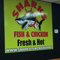 Photo taken at Mr. Shark's Fish and Chicken by desy h. on 11/15/2012