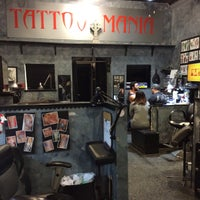 Photo taken at Tattoo Mania by Kleopatra M. on 12/13/2015