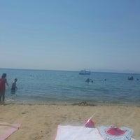 Photo taken at Kılıç Beach Club by 👑Merve👑 on 7/27/2015