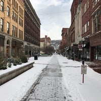 Photo taken at Downtown Cumberland Walking Mall by Bryan T. on 1/31/2017