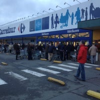 Photo taken at Carrefour hypermarkt by Tijs M. on 12/31/2012