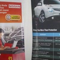 Photo taken at Nissan Kediri by Dien E. on 8/24/2013