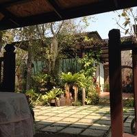 Photo taken at บ้านสวนแม่กลอง สมุทรสงคราม by Ajaree J. on 1/25/2014