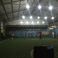Photo taken at Galaxy Futsal Center by Ginanjar D. on 10/27/2013