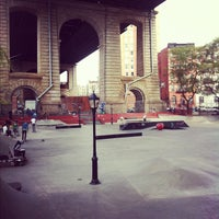Photo taken at Coleman Playground Skatepark by Joe C. on 10/27/2012