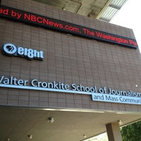 Photo taken at Walter Cronkite School of Journalism & Mass Communication by Steven S. on 9/29/2012