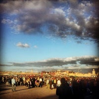 Photo taken at Place Jemaa el-Fna by Michael B. on 3/9/2013