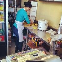 Photo taken at Mona's Roti by Michael B. on 3/7/2014