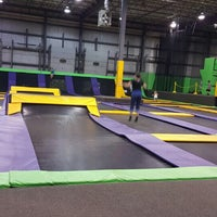 Photo taken at Get Air by Bonnie F. on 7/13/2015