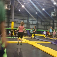 Photo taken at Get Air by Bonnie F. on 2/17/2016