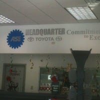 Photo taken at Headquarter Toyota by Patricia K. on 12/30/2012