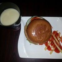 Photo taken at Mr Burger by Yumiko J. on 6/13/2014