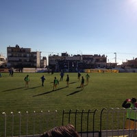 Photo taken at Γήπεδο Αχαρναϊκού by Paschalis K. on 12/8/2013