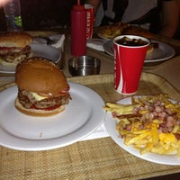 Photo taken at Queen Burger by Paschalis K. on 7/14/2013